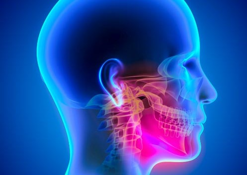 Pain patterns for TMJ